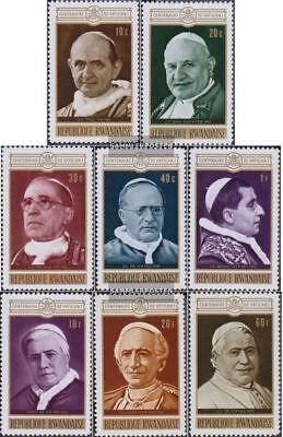 kompl.ausg. Postfrisch 1970 1 Vatikanischer Konzil: Päpste Vereinigt Ruanda 431a-438a