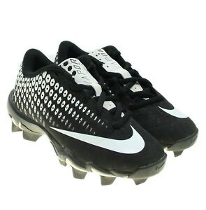 Nike-Vapor-Ultrafly-2-Keystone-Youth-Molded-Softball-Baseball-Cleats-Black-White
