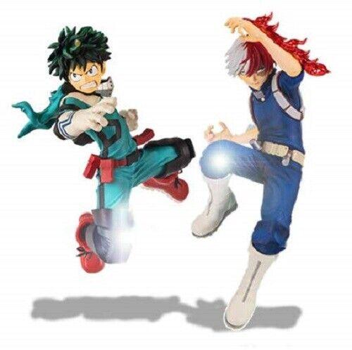 My Hero Academia THE AMAZING HEROES Midoriya Todoroki Shoto Set w// Tracking NEW