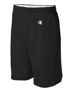 8187-Champion-Active-Wear-Men-039-s-Cotton-Gym-Shorts-Athletic-6-034-Inseam