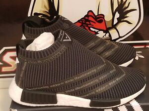 sports shoes 45db7 402e8 Image is loading Adidas-X-White-Mountaineering-NMD-City-Sock-CS1-