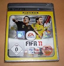 Playstation 3 - FIFA 11 FIFA11 Platinum Sport Fussball Spiel Deutsch PS3 Neu OVP