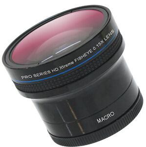 NEW-X-treme-Pro-Hi-Def-0-15x-Fisheye-Lens-For-Panasonic-HC-WXF991K