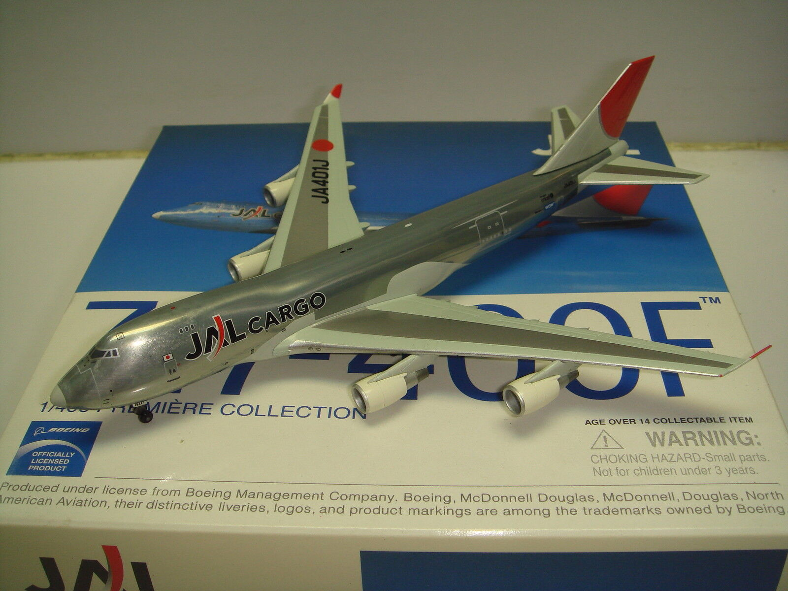 Dragon Wings Japan Airlines JAL Cargo B747-400F  Metal Magic-Wow  1 400