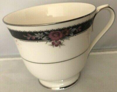 "Tea Cup Noritake Ivory China /""Etienne/"" #7260 Pattern Coffee"