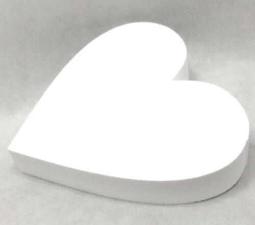 Herz Styropor 10 cm bis 40 cm Ø Torten Dummy 5 cm