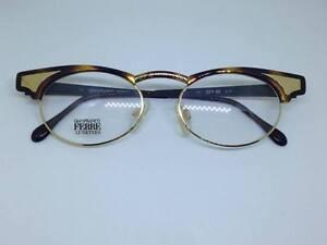 GIANFRANCO-FERRE-occhiali-da-vista-vintage-donna-ovali-GFF86-woman-metal-glasses