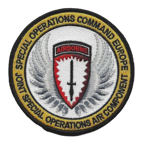 United States Armed Forces Joint Special Operations Command Patch Europe