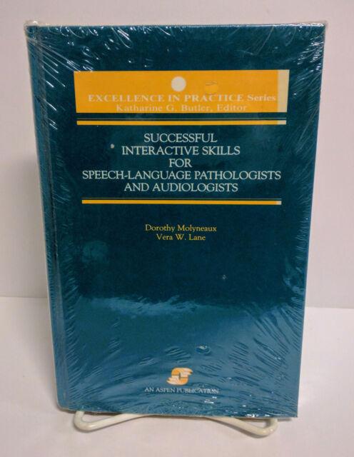 Successful Interactive Skills Speech Language Pathologists by Vera Lane SEALED