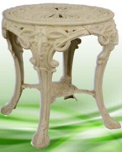 Tisch-Antik-Eisen-Vintage-fuer-Haus-Garten-Terrasse-Moebel-Tische-Vintagegeschenk