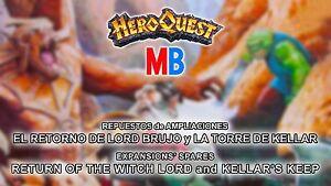 Multi-Anuncio Accesorios Ampliaciones Hero Quest / Expansions' Spares HeroQuest