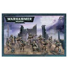Astra Militarum Cadian Shock Troops Infantry Squad Warhammer 40K Imperial Guard
