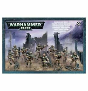 Warhammer 40k Imperial Guard Cadian Shock Troops Boxed Set