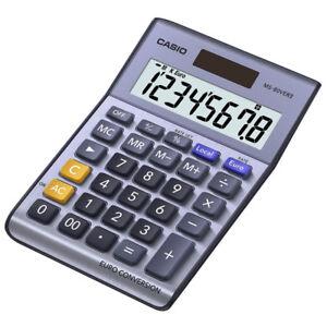 Casio MS80VER Desk Calculator with Euro Conversion - Sheffield, United Kingdom - Casio MS80VER Desk Calculator with Euro Conversion - Sheffield, United Kingdom