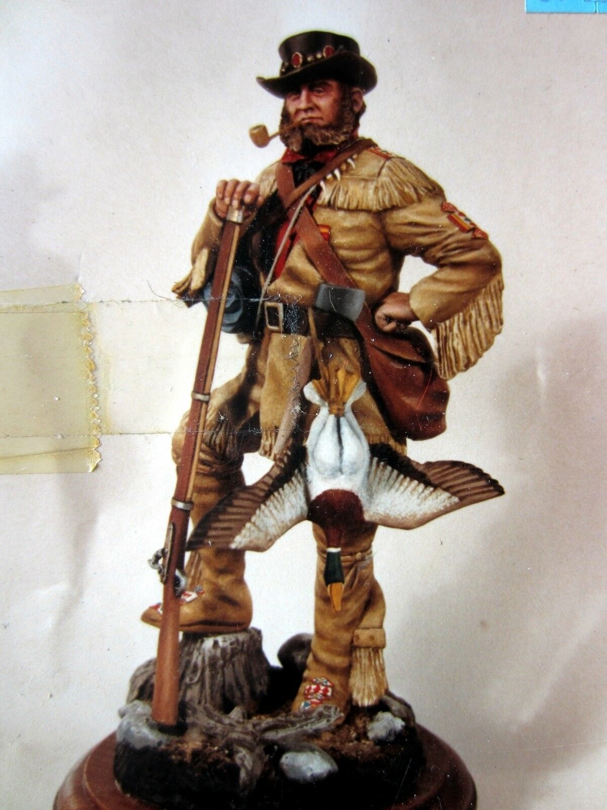 Ron Hinote Little Generals X142 Mountain Man with Coonhat and Duck 150mm