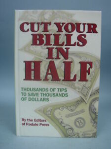 Book Cut Your Bills In Half Thousands