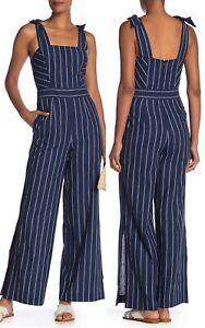 a56c4d925638 RACHEL Rachel Roy Women s Kate Linen Cotton Striped Jumpsuit