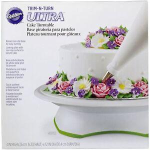 Giratorta-WILTON-Base-girevole-per-decorazione-torta-cm-28-SPEDIZIONI-VELOCI