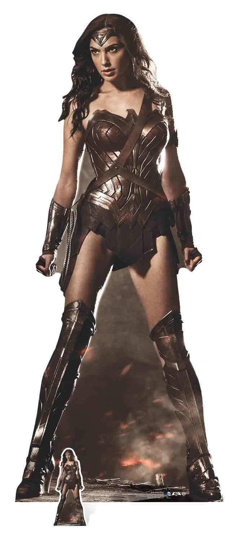 Wonder Woman ( GAL GADOT GADOT GADOT ) lebensechte Größe Pappfigur Aufstell c80a32