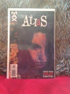 ALIAS-1-FIRST-PRINT-BENDIS-MARVEL-COMICS