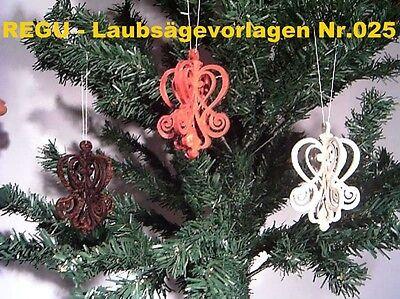 """Regu - Laubsägevorlage Nr.025 """"75 X Christbaumschmuck Zum Selbstaussägen"""" +++++ Elegant Und Anmutig"""