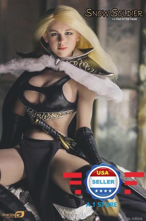 PHICEN PL2016-80 1/6 Snow Soldier Queen Seamless Female Figure Full Set