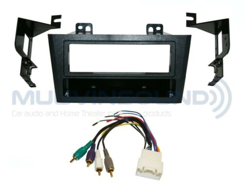 AMP Harness TY81 Radio Stereo Mounting Installation Dash Kit Combo Single DIN