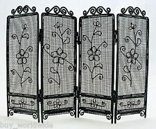Black Wire Folding Screen Divider 1:6 Barbie Doll's House Dollhouse Furniture