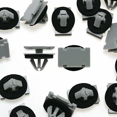 Wholesale 50Pcs Rivets 11mm Retainer Fastener Clips for Cadillac Saturn Buick