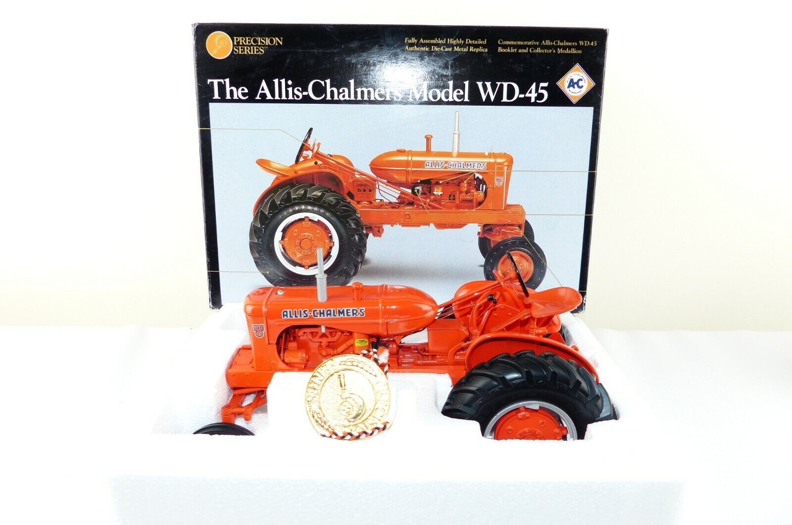 Ertl Precision series No 2253 is the Allis Chalmers WD-45 4 wheeled edition VNMB