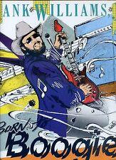 HANK WILLIAMS JR born to boogie GERMAN 1987 EX LP