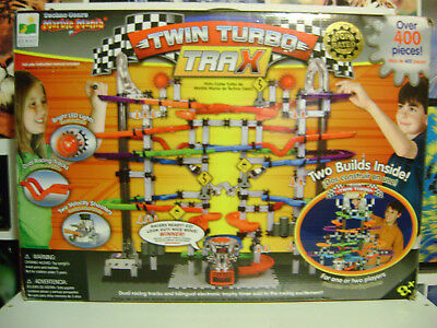 Techno Gears Marble Mania Twin Turbo Trax 400 Pieces By