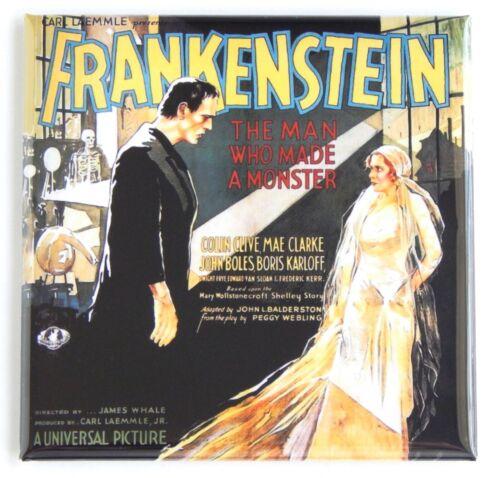 """1931 FRIDGE MAGNET movie poster /""""style S/"""" Frankenstein"""