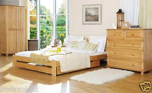 ead137870cf NODAX  New Solid Wooden 100% Pine 6ft Super King Size Bedframe