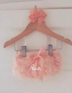 Luxury Girls Baby Frilly Tutu Knickers Cake Smash Photoshoot 1st Birthday Outfit