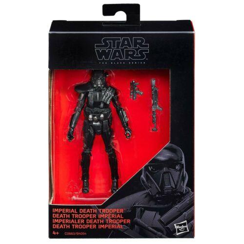 """STAR Wars Nero Serie Death Trooper 3.75/"""" Action Figure Hasbro NUOVO RIBELLE un Regno Unito"""