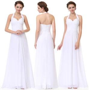 Ever-Pretty-Bridesmaid-Dresses-Long-Chiffon-Halter-Ball-Prom-Gown-White-08487