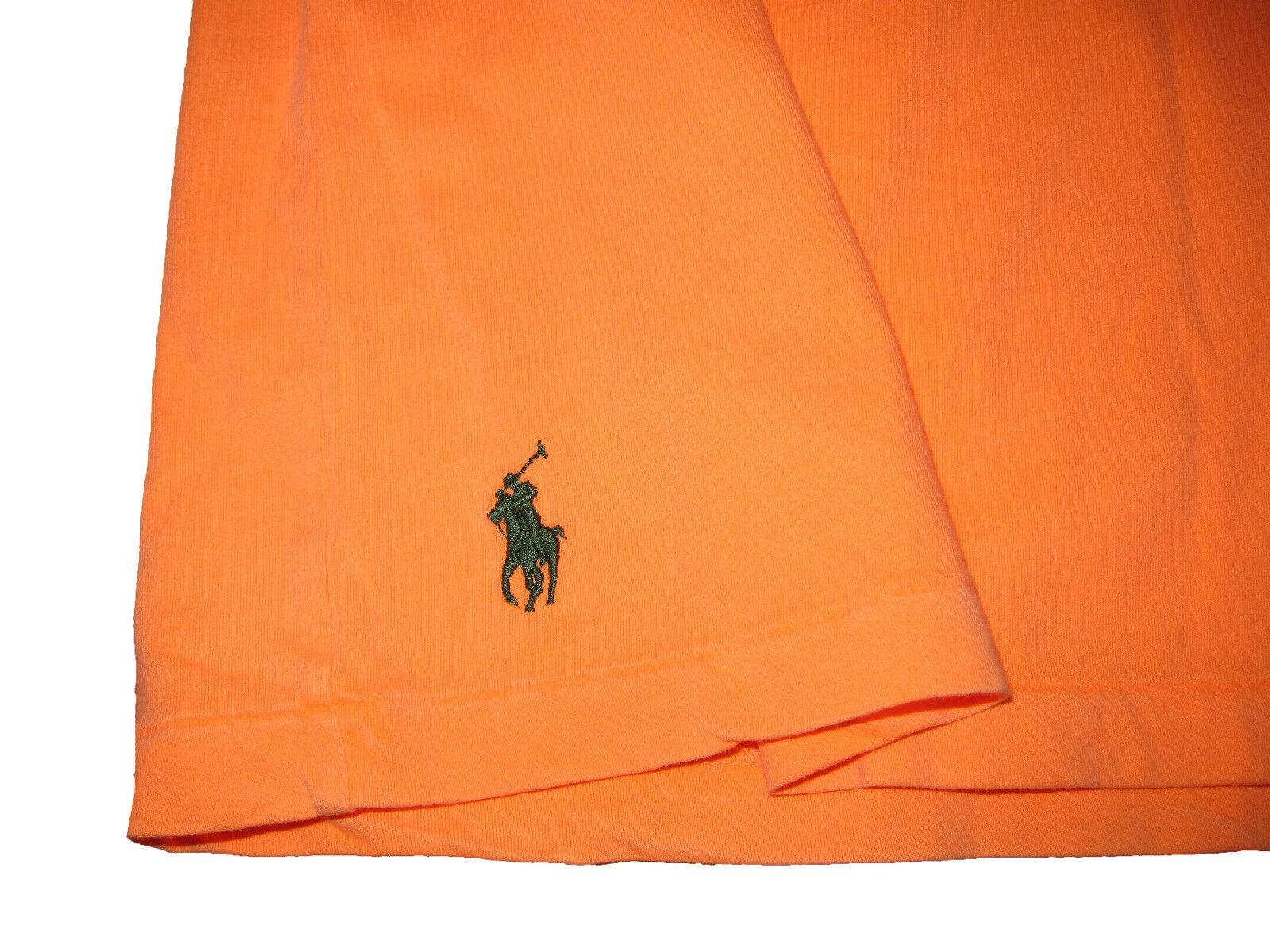 Polo Ralph Lauren Neon arancia Surf Dyed Surf arancia Beach Resort Custom Fit T Shirt XXL 2XL 05f59d