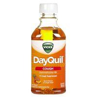 5 Pack - Vicks Dayquil, Cough Liquid, Citrus Blend - 12 Fl Oz Each on sale