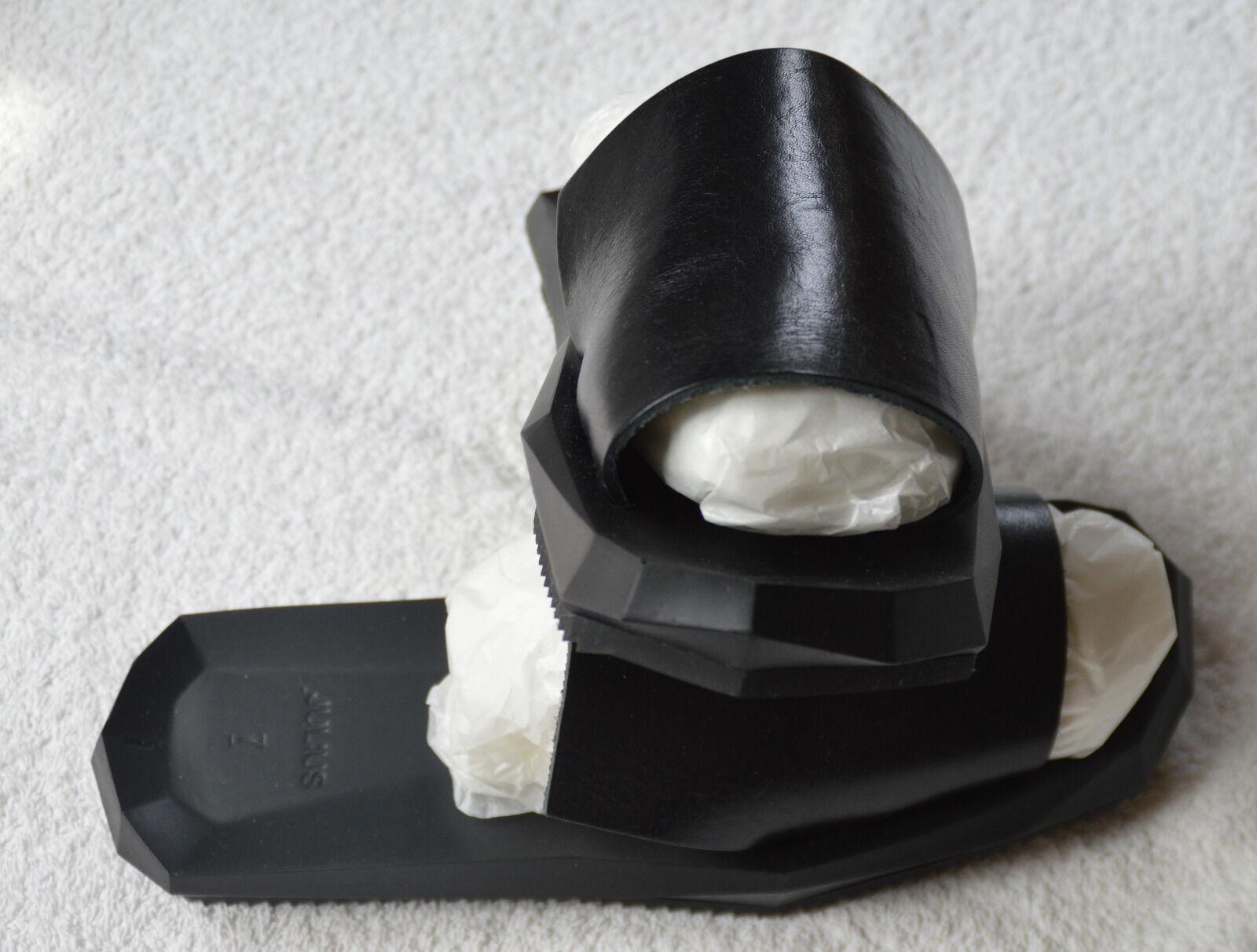 Julius 7 Sandale 53FWM8 1 Layers schwarz Leder Größe 1 53FWM8 85bb71
