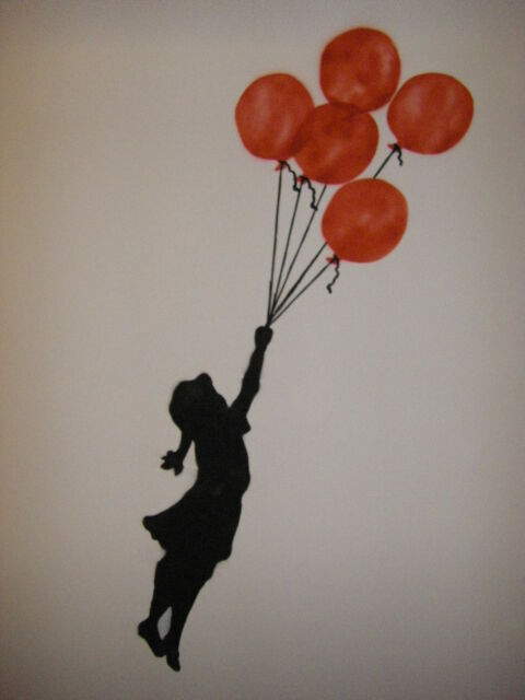 QUALITY BANKSY ART PHOTO PRINT (BALLOON GIRL)
