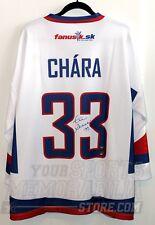 Zdeno Chara Boston Bruins Signed Autographed Slovakia World Championships Jersey
