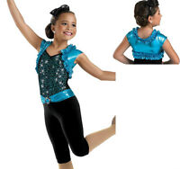 Devil Blue Dress Tap Jazz Dance Competition Costume Pageant Casual Wear Ooc