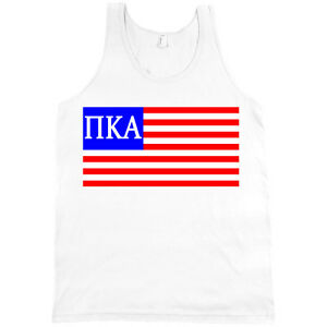 image is loading pi kappa alpha pike letters in usa flag