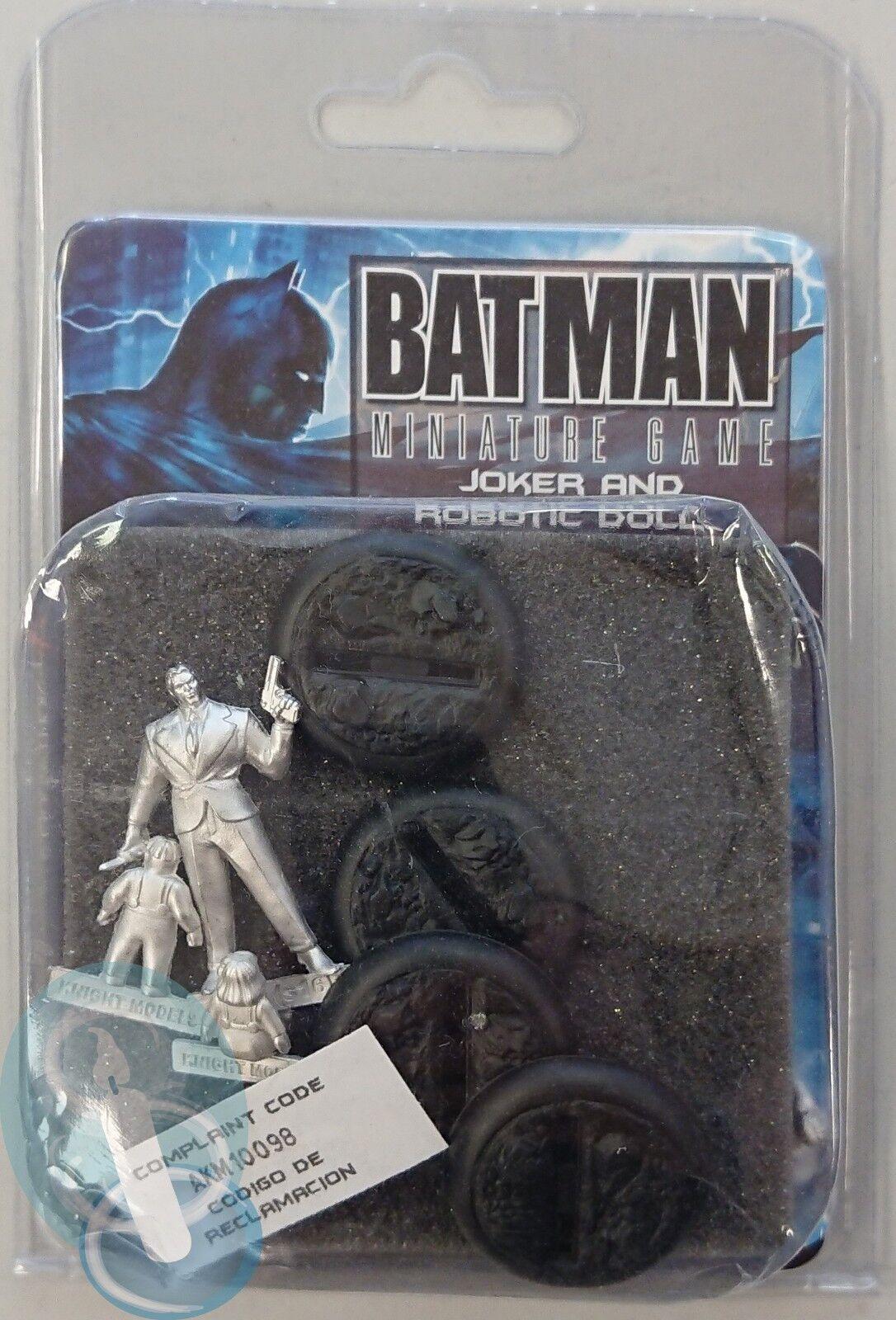 Joker And Robotic Dolls  Batman Miniature Game Knight Models