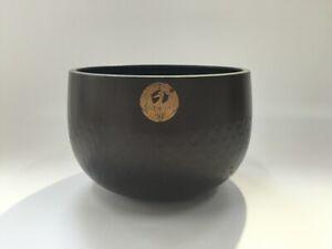 Japanese-Copper-Buddhist-Bell-Orin-Vtg-Alter-Fitting-Gong-Sound-Crane-Crest-R220