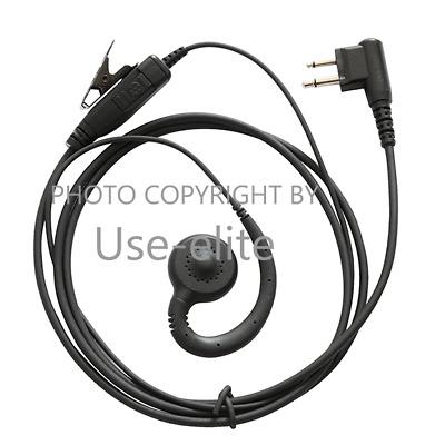 Palm Mic Earpiece for Motorola CLS1110 CLS1410 DTR410 MU11 GP88 Handheld