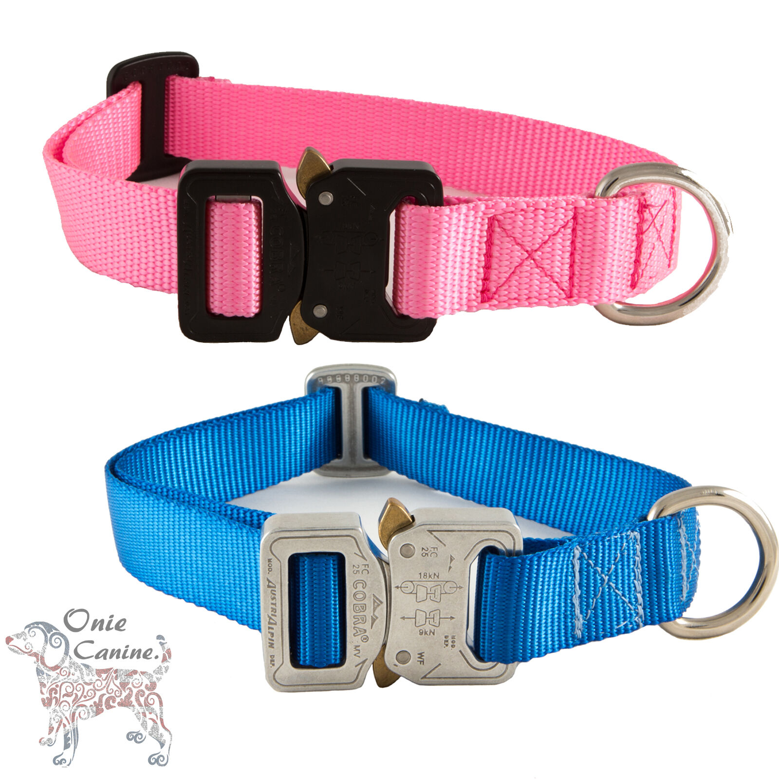 Onie Canine - Onie Dog Collar - His and Hers - Made in The Austrialpin