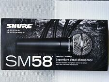 Shure SM58 Professional Legendary Vocal Microphone NEW