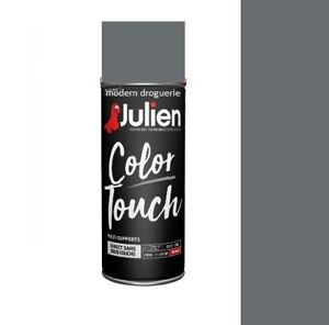 aerosol bombe peinture gris anthracite mat ral 7016 400 ml julien color touch ebay. Black Bedroom Furniture Sets. Home Design Ideas